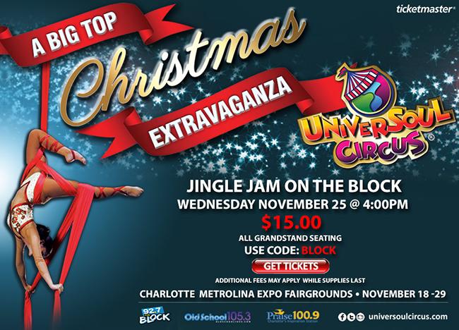 Jingle Jam on the Block