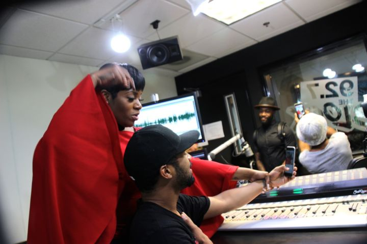 Fantasia At 92.7 The Block