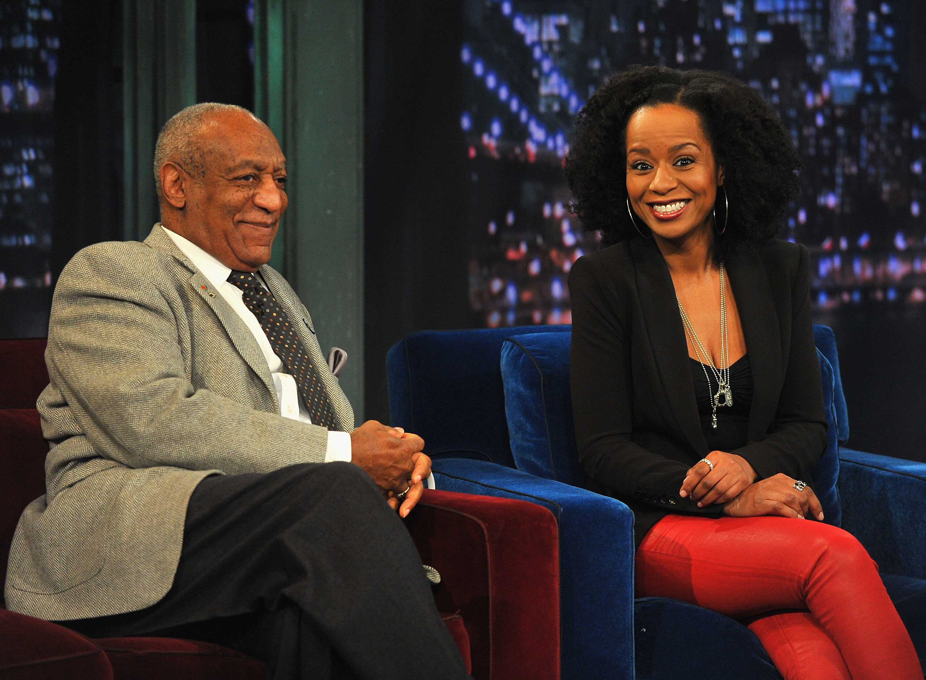 Tempestt Bledsoe Visits 'Late Night With Jimmy Fallon'