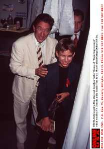 8/22/96 Los Angeles, CA. Tim Allen and Jonathan Taylor Thomas of 'Home Improvement' which won Best T