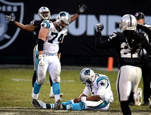 Carolina Panthers vs. Oakland Raiders
