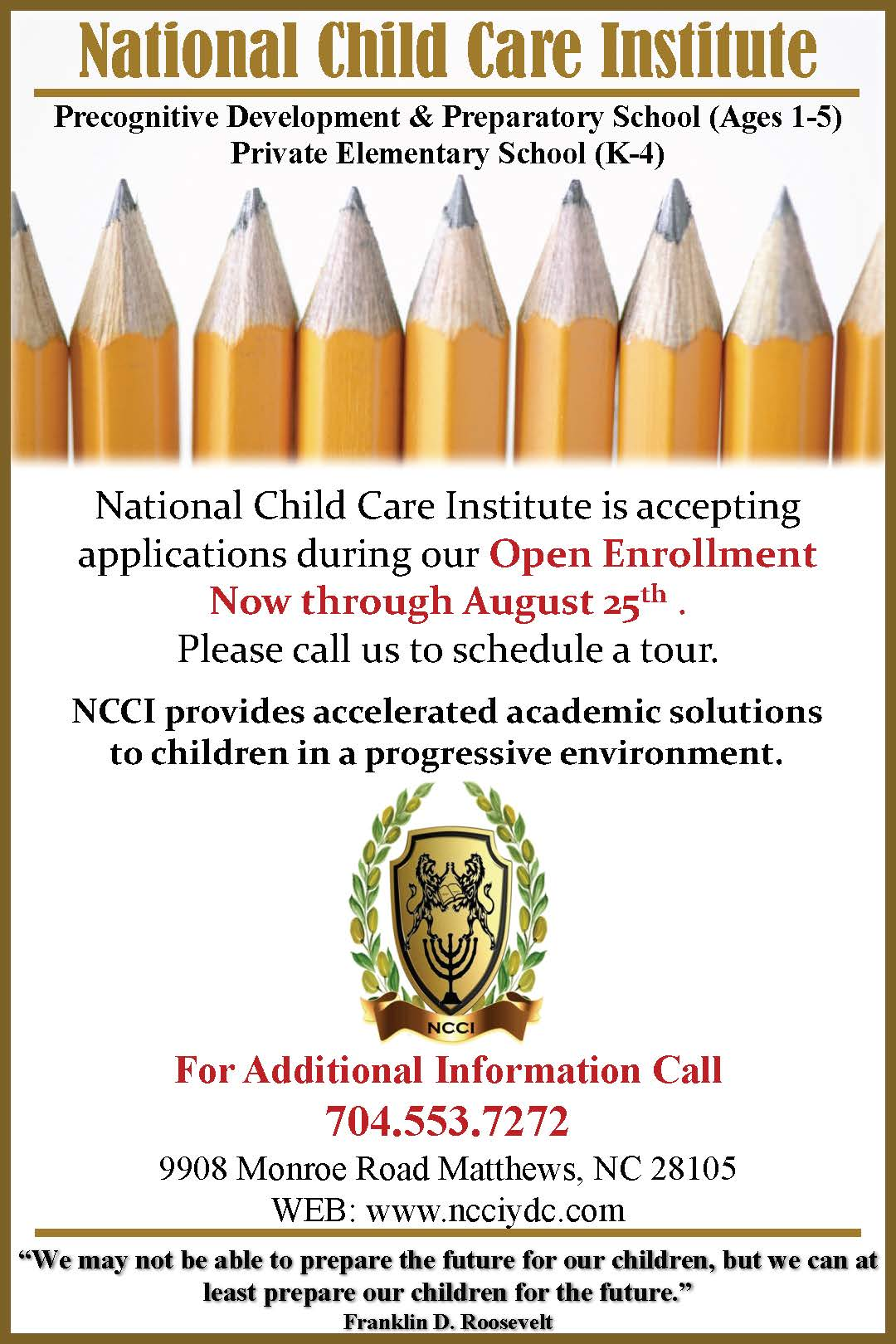 National Child Care Institute