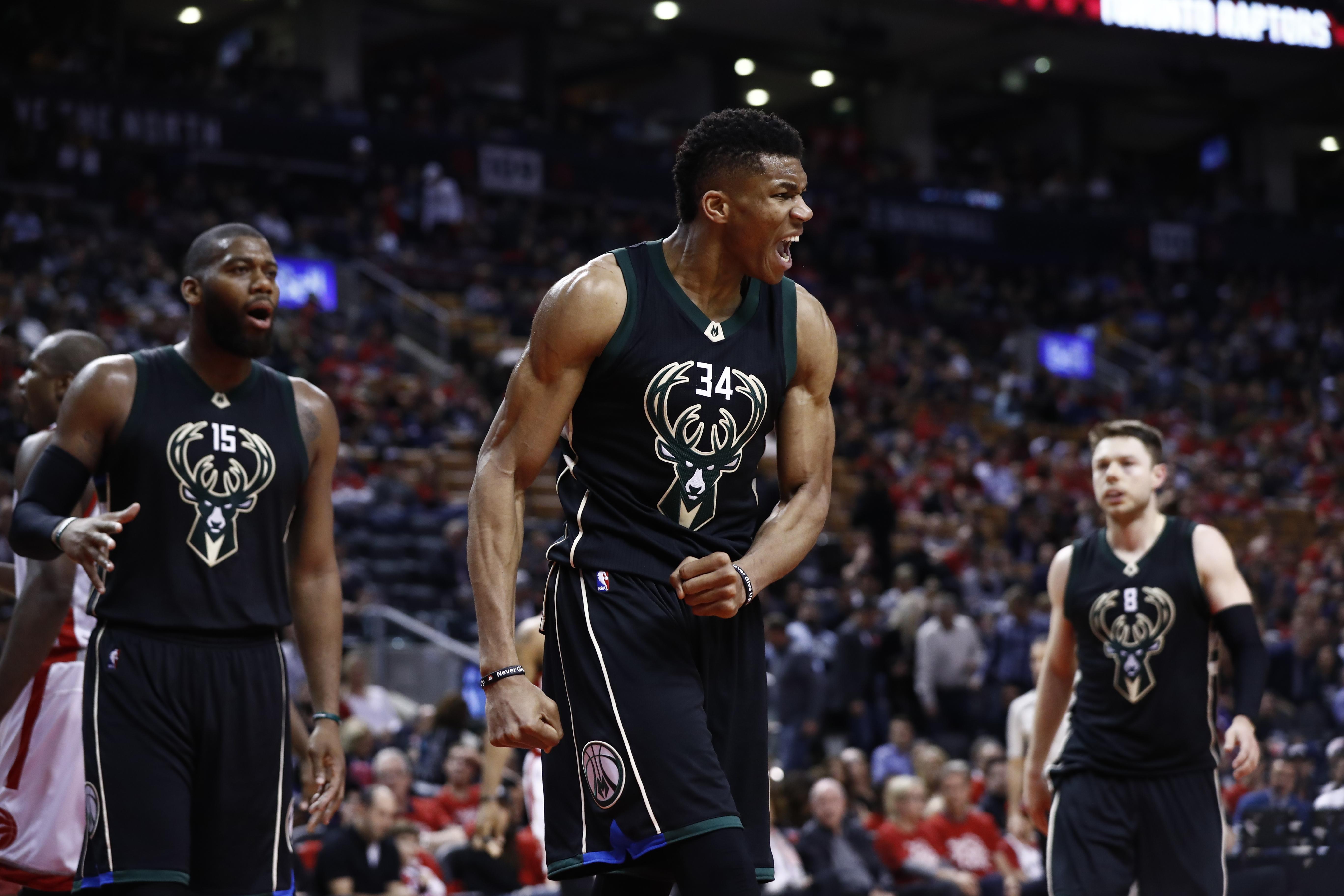 Milwaukee Bucks v Toronto Raptors
