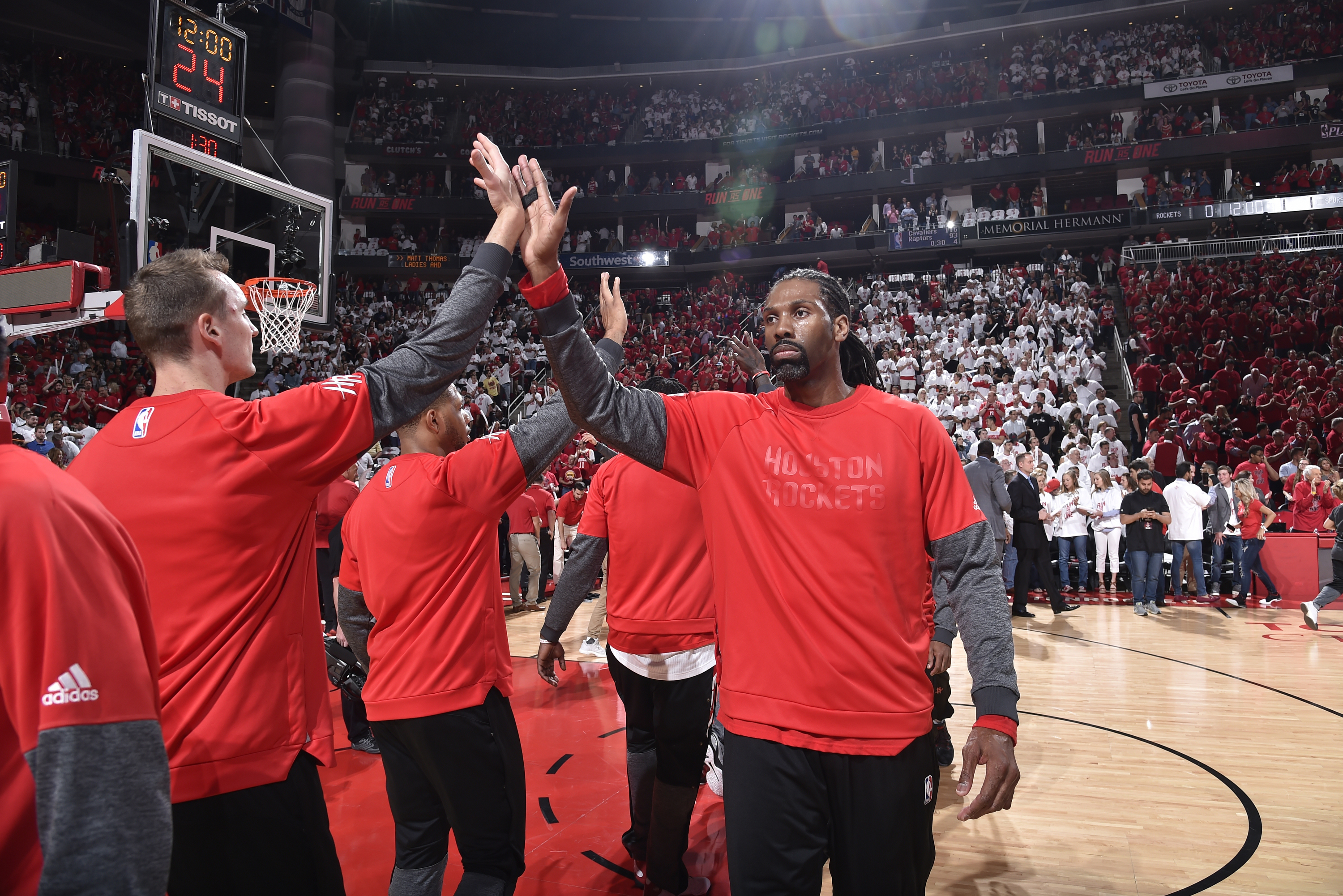 San Antonio Spurs v Houston Rockets - Game Three