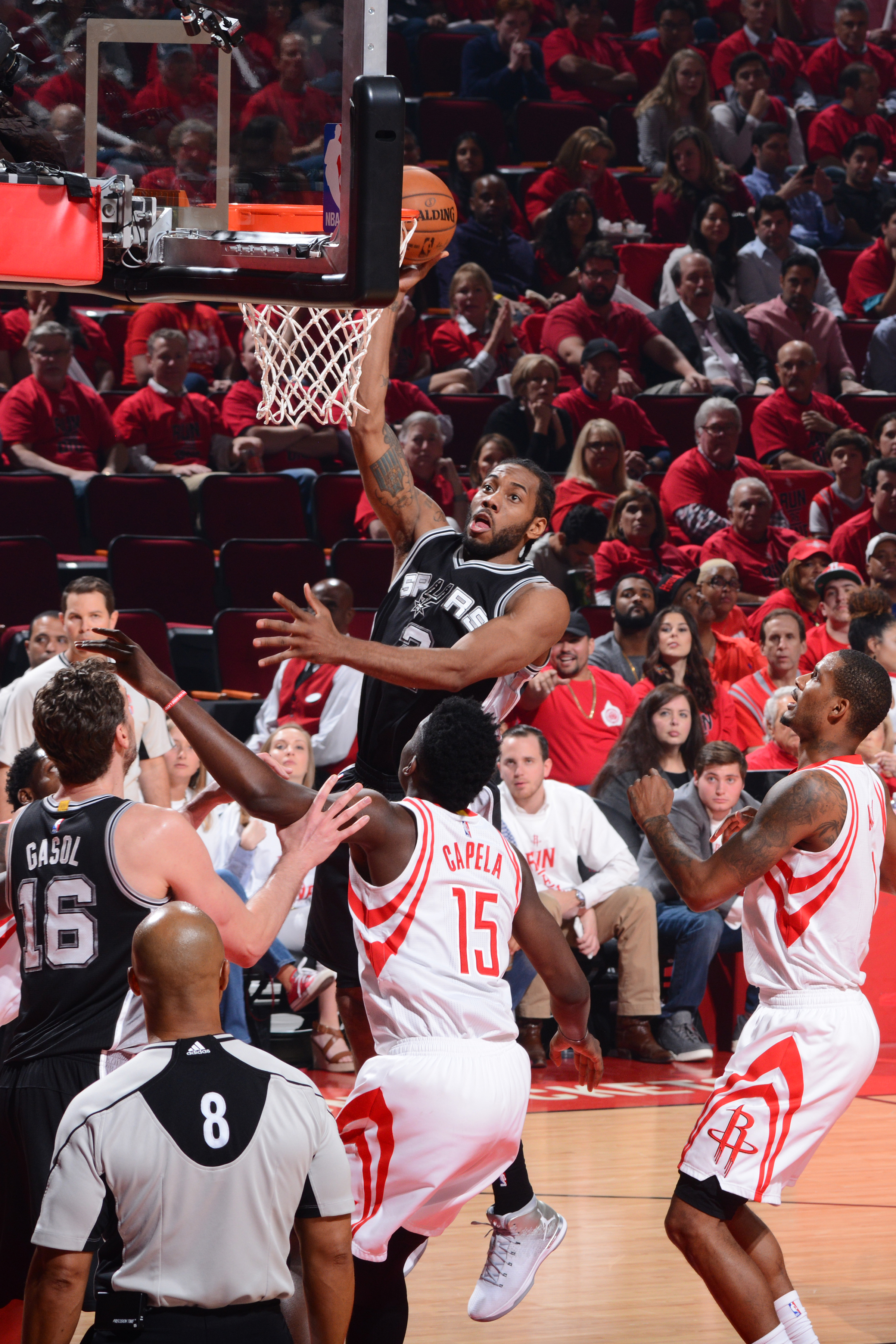 Houston Rockets v San Antonio Spurs - Game Three