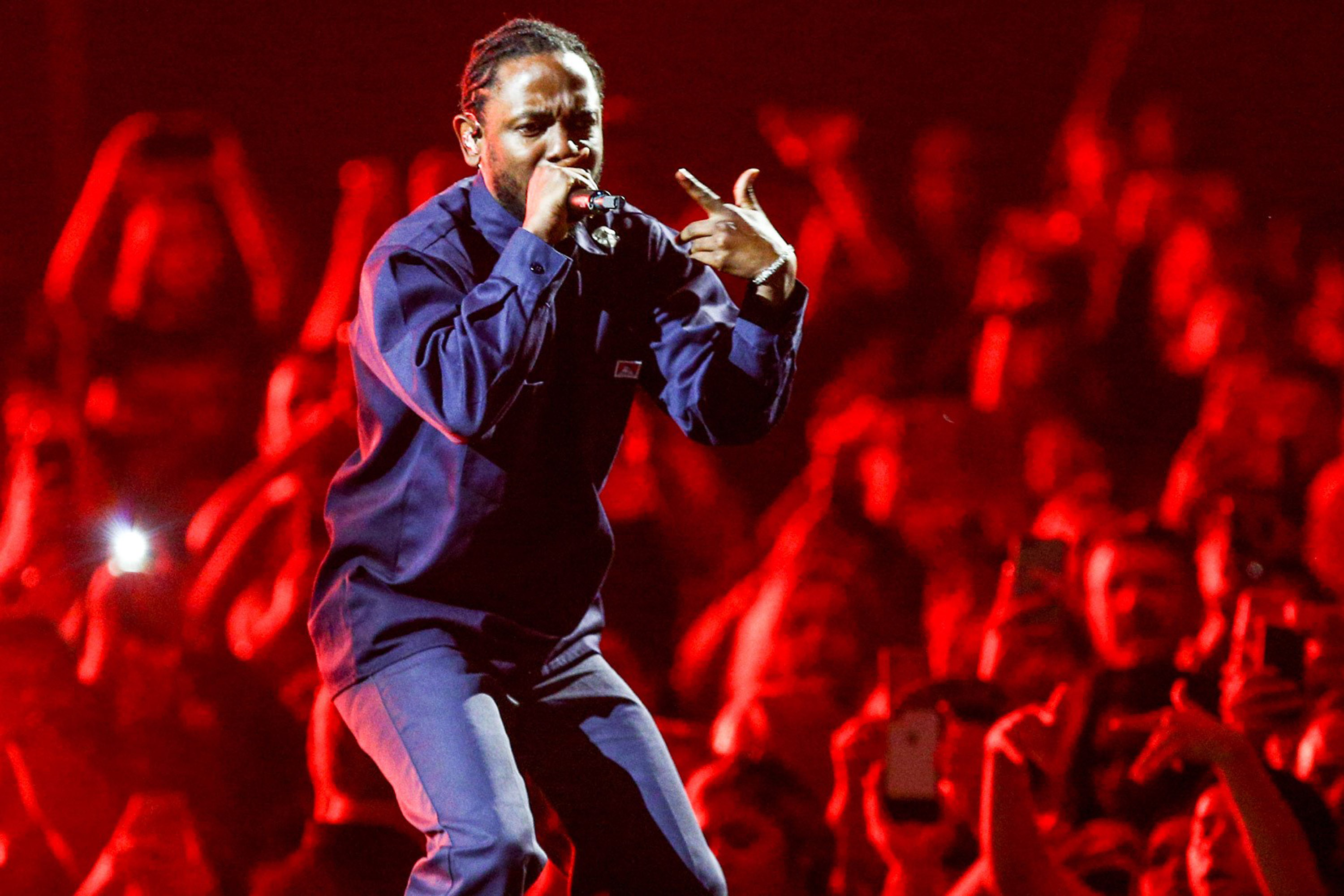 Kendrick Lamar Joins The Weeknd During The 'Legends of The Fall Tour' At The Forum
