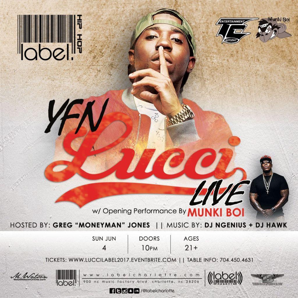 YFN Lucci @Label   92 7 The Block