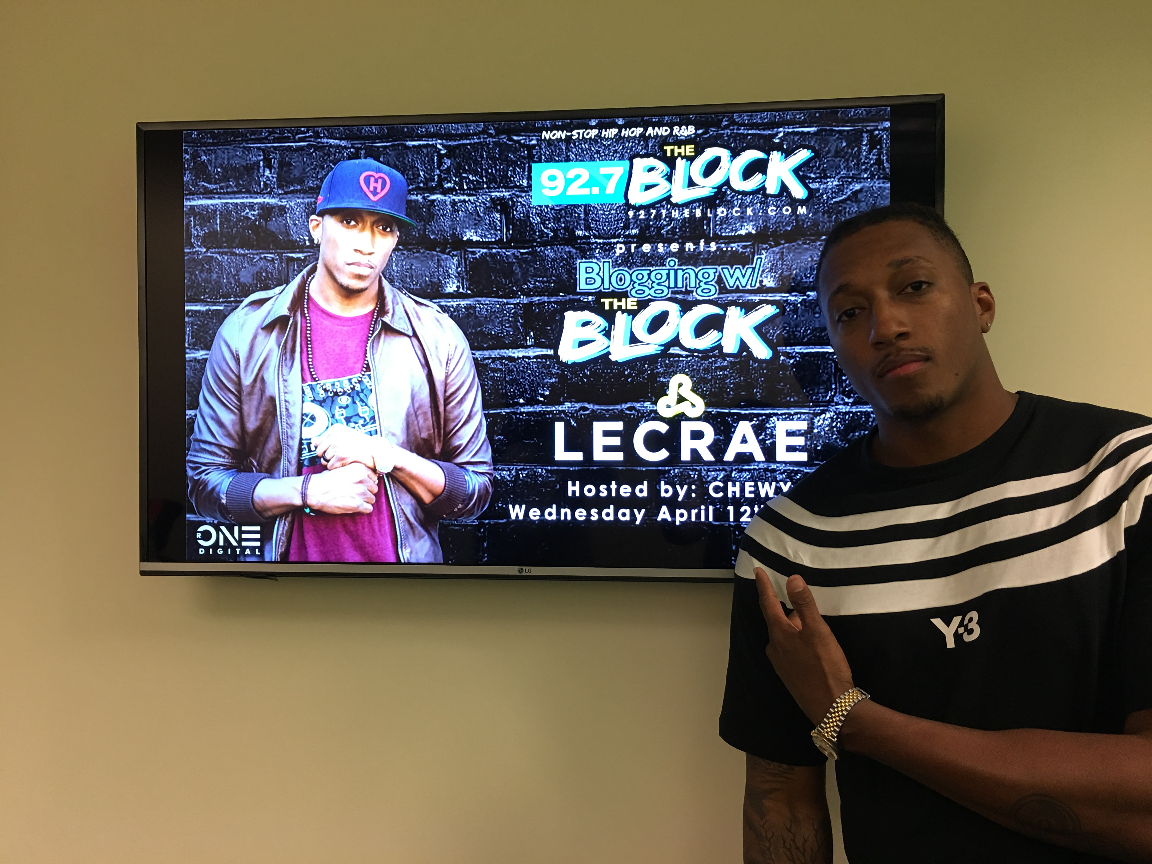 Blogging On The Block With Lecrae