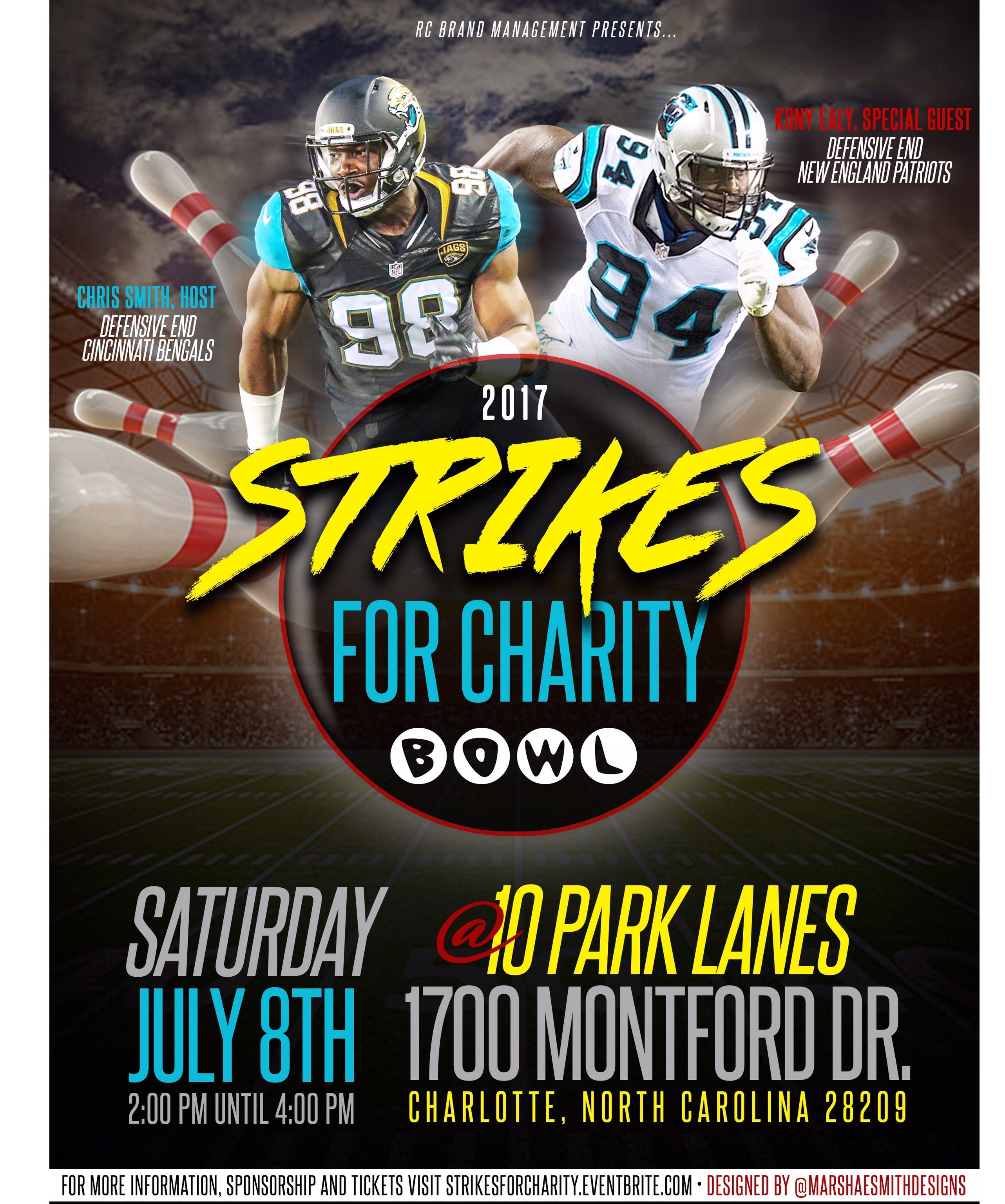 Strikes For Charity Event