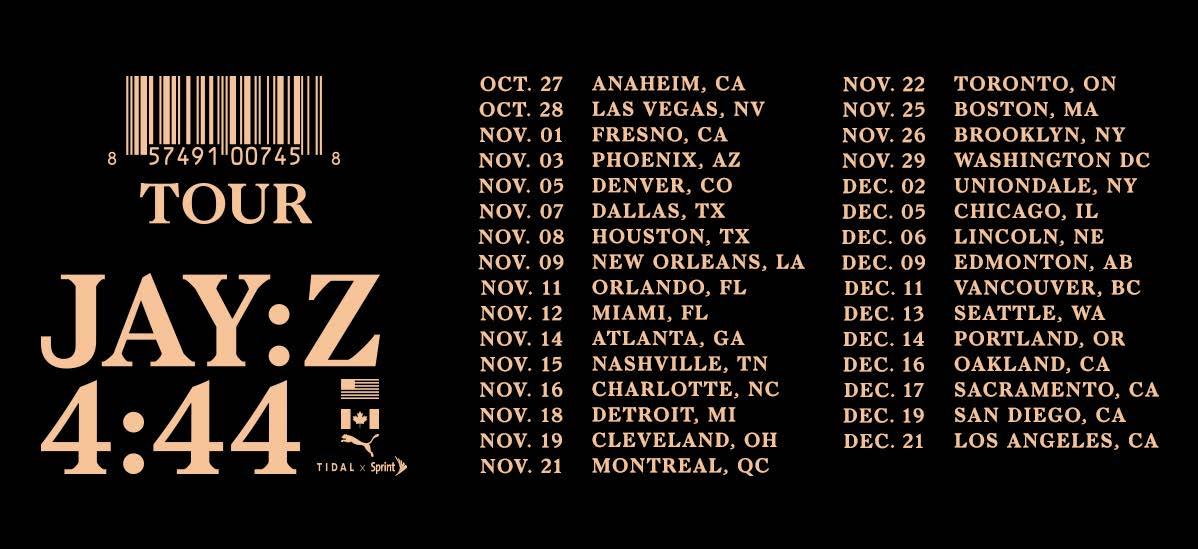 Jay-Z Tour