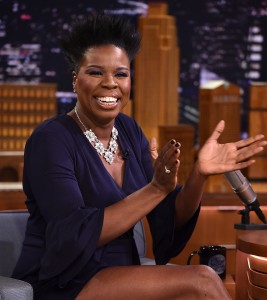 Leslie Jones Visits 'The Tonight Show Starring Jimmy Fallon'