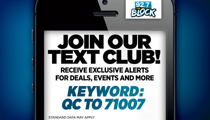 92.7 The Block Text Club