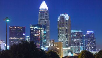 Downtown Skyline in Charlotte, North Carolina