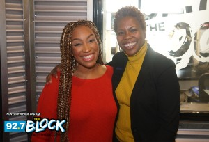 Ally The Pub And CIAA Commissioner Jacqie McWilliams