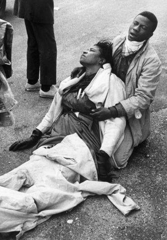 Injured Civil Rights Marchers