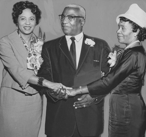 Daisy Bates And Churchgoers