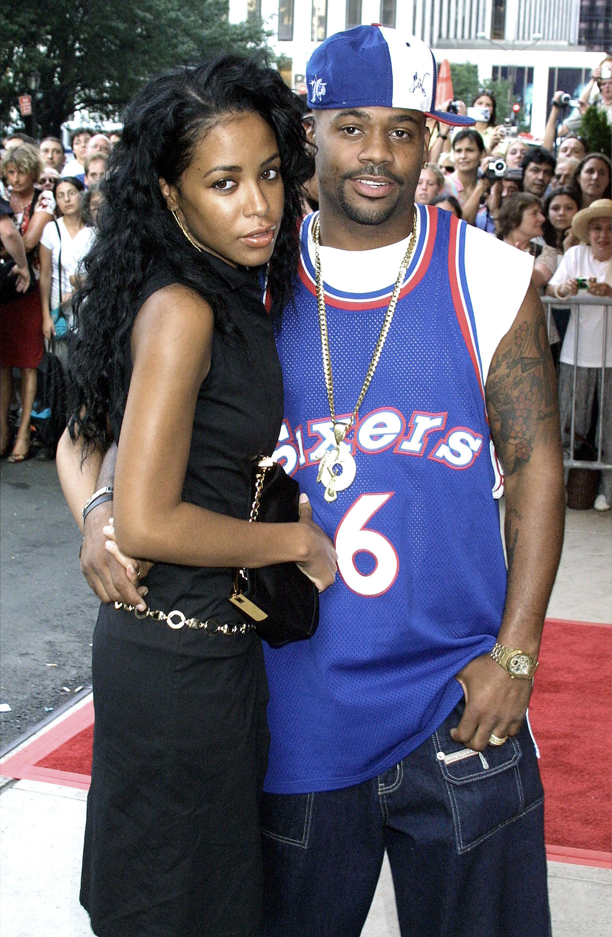 Photo of Damon DASH and AALIYAH