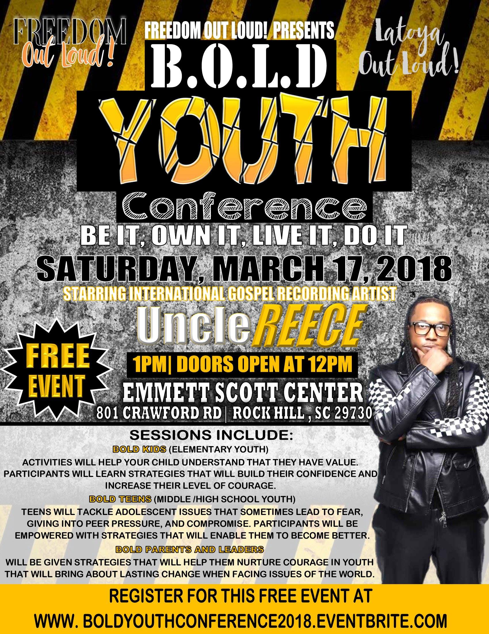 B.O.L.D. Youth Conference