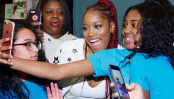 Keke Palmer Saving Our Daughters
