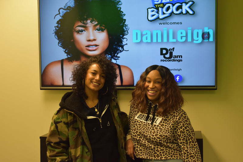 DaniLeigh Visits Radio One Charlotte