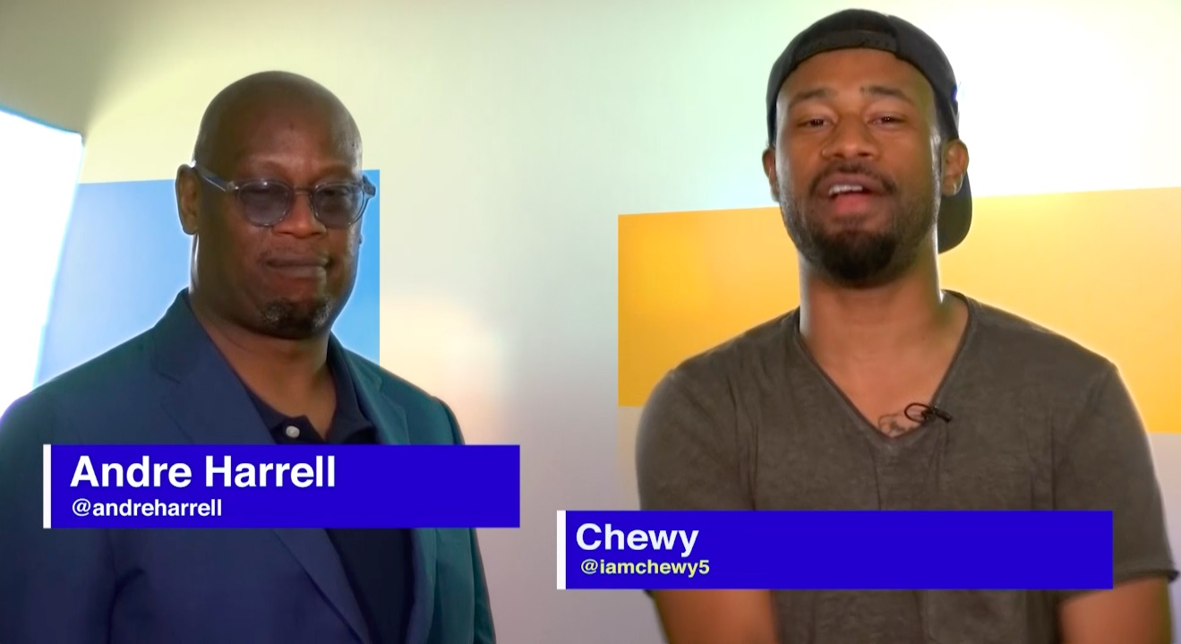 Chewy and Andre Harrell