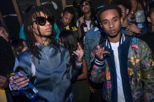 New Era All Star Event with Mike Will Made It and Rae Sremmurd