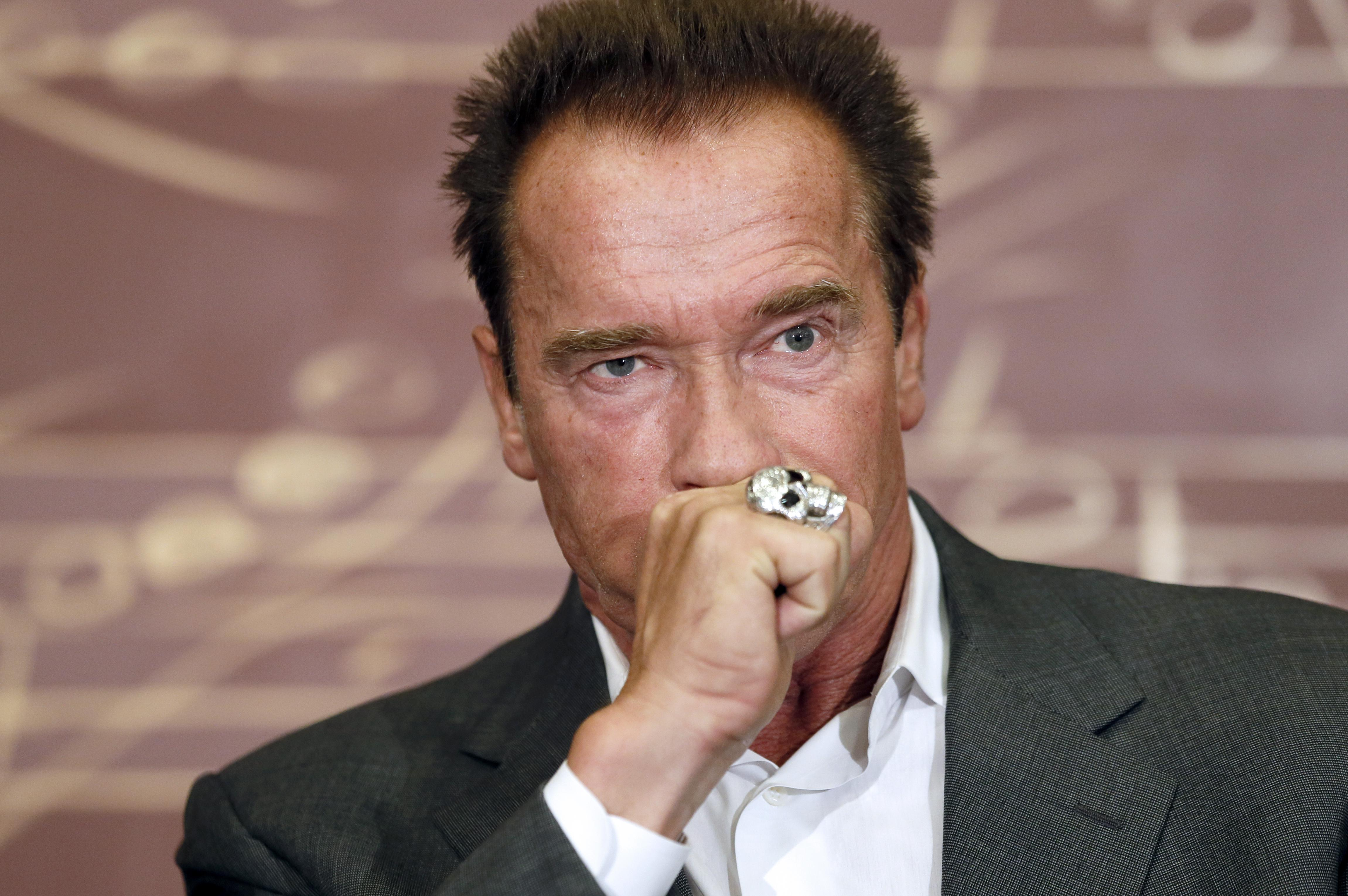 FRANCE-USA-PEOPLE-SCHWARZENEGGER