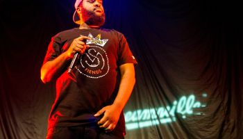J Cole Performs At O2 Academy In Birmingham