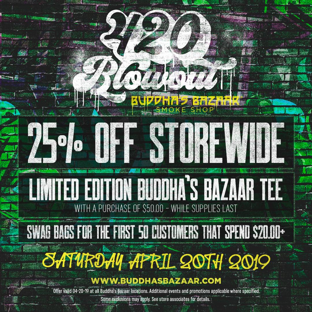 Buddha Bazaar Flyer 1 420 Sale