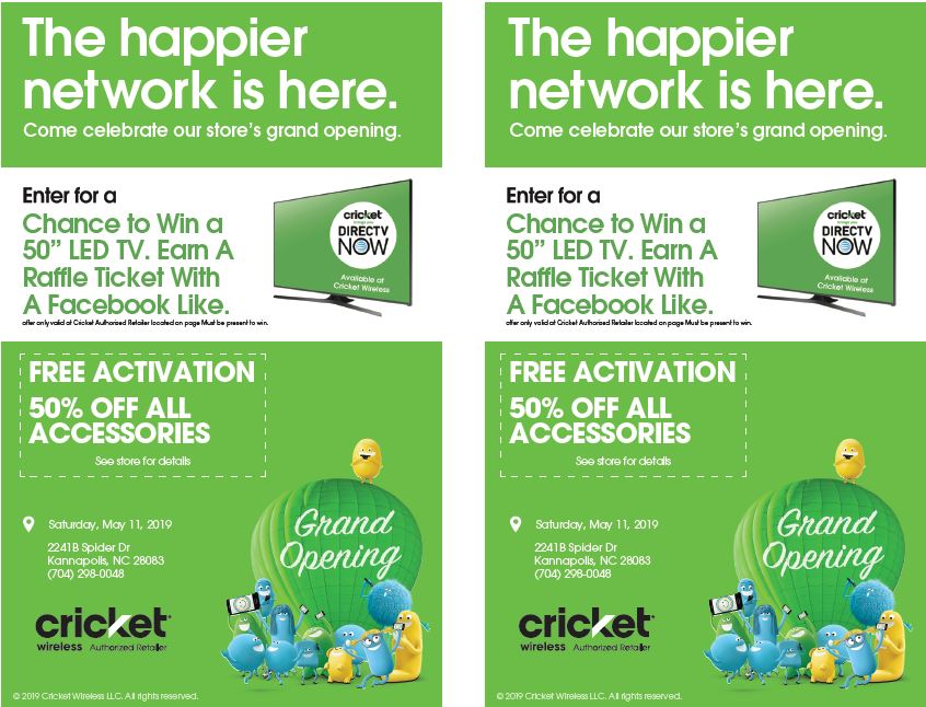 Cricket Wireless Charlotte Grand Opening