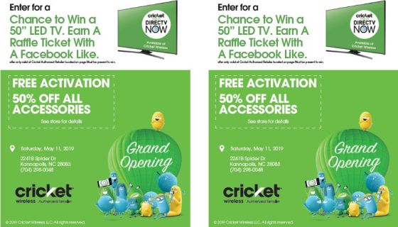 Join THE BLOCK at Cricket Wireless for the GRAND OPENING!   92 7 The