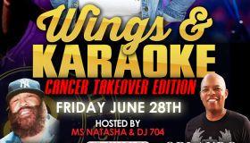 Wings and Karaoke