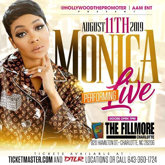Monica LIVE at The Fillmore