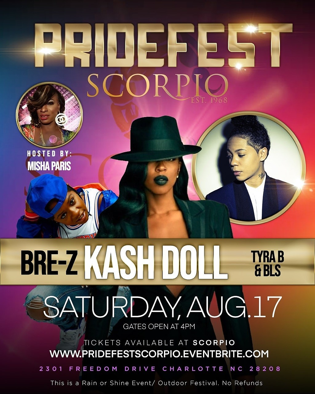 Pride Festival 2019 with Kash Doll