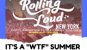 Rolling Loud WTF Text Contest