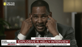 R Kelly CBS interview screenshot