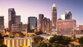 Downtown skyline view of Charlotte, North Carolina