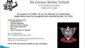 No Grease Scholarships